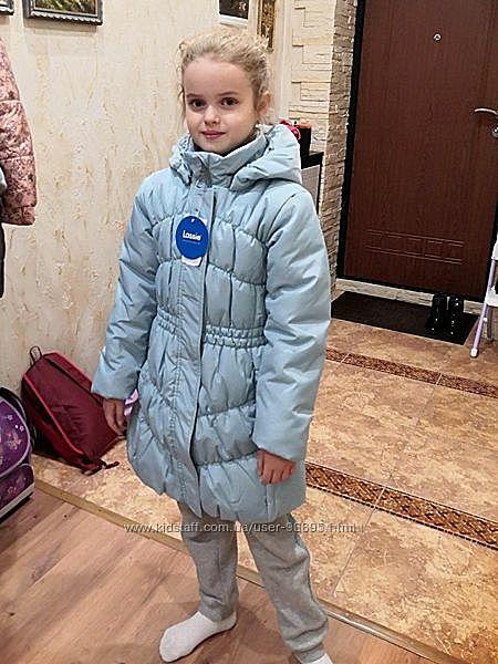 Sale до 15.08 Стильное и очень теплое пальто Lassie by Reima