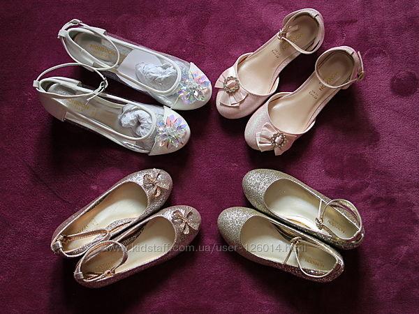 Торжественные туфли MONSOON Англия  18-23 см