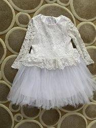 Платье праздничное, на 5 лет