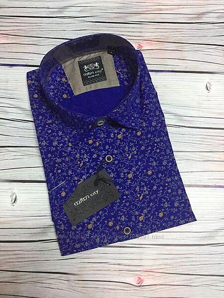 Распродажа мужских рубашек короткий рука