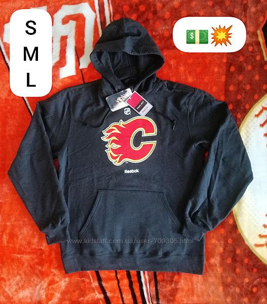 Оригинал. Худи Reebok x NHL Calgary Flames