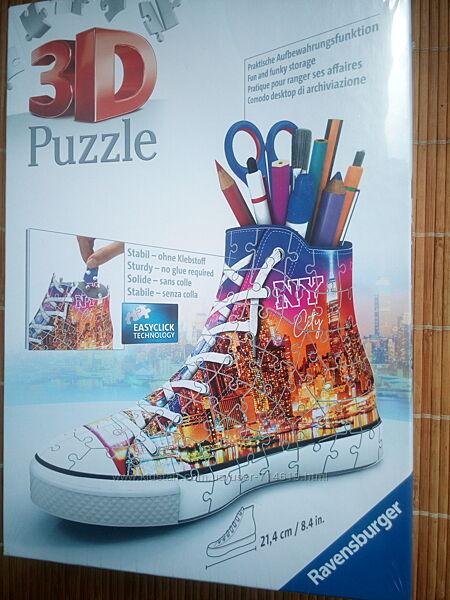 3D пазл Ravensburger подставка-кед для карандашей NY citi