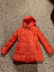 Зимняя куртка, пальто для девочки 134 р.