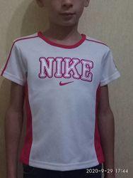 Футболка спортивная Nike, для девочки, для мальчика,7 -9лет