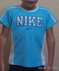 Футболка спортивная Nike, для девочки, для мальчика,4-6лет