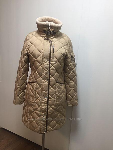 Стеганое пуховое пальто Ralph Lauren р. S M
