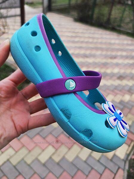 C 9 балетки Crocs. Оригинал
