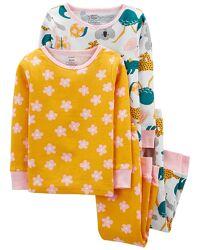 Разм.5т пижама carters, хлопок, единорог, в наличии