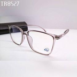 Стильные компьютерные очки  пастельная прозрачная оправа