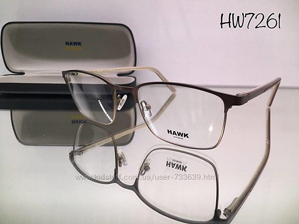 Стильная брендовая оправа hawk hw7261 высшего качества