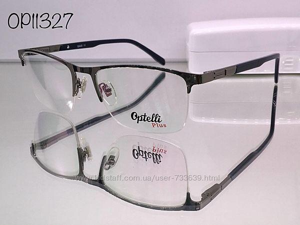 Стильная брендовая оправа optelli op11328