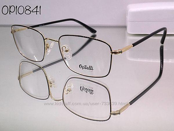 Стильная брендовая оправа optelli op10841