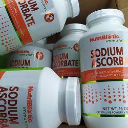 NutriBiotic, Аскорбат натрия, кристаллический 227 г  витамин с