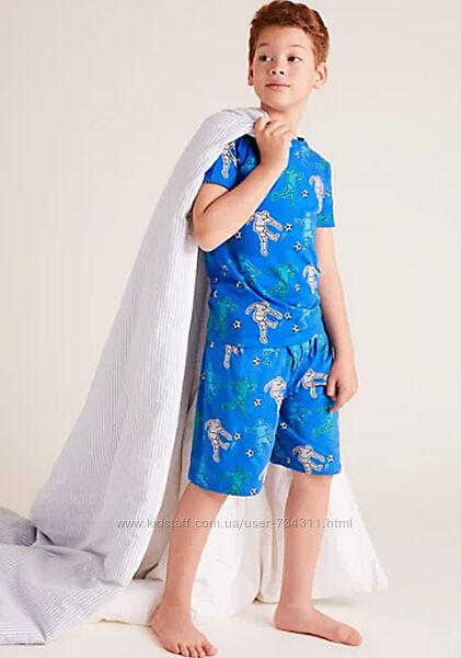 Детская пижама для мальчика  marks & spencer 7-8 и 8-9 лет
