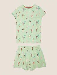 Детская пижама для девочки marks & spencer 4-5 и 5-6 и 6-7 лет