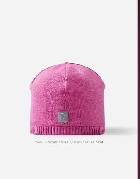 Шапка демисезонная для девочки Haapa reima 52/54 см розового цвета