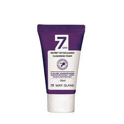 Пенка с коллагеном May Island 7Days Secret 4D Collagen Cleansing Foam