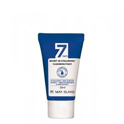 Очищающая пенка May Island 7Days Secret 4D Hyaluronic Cleansing Foam