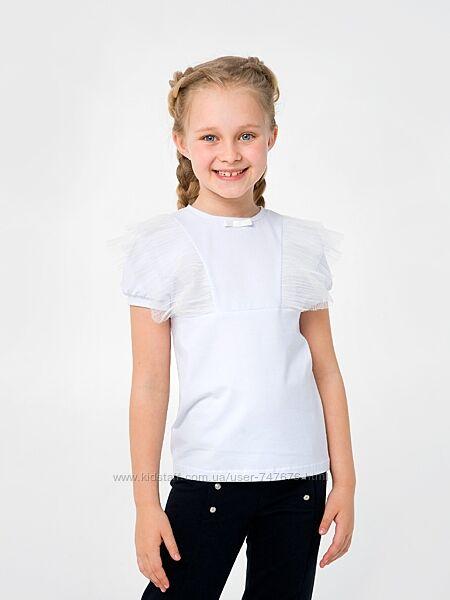 Школьная блузка Смил 122,128,140р. блуза Сміл в школу