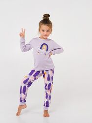 Пижама Смил 116,122р для девочки хлопок піжама Сміл Smil артикул 104502