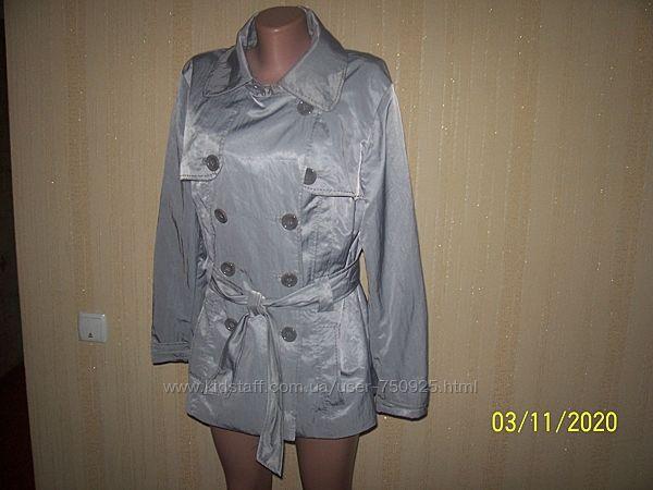 Очень красивая лёгкая курточка оригинал брэнда biaggini/швейцария 48/.50 ра