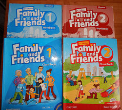 Оригинал Family and Friends 1.  Solutions Elementary Second Edition