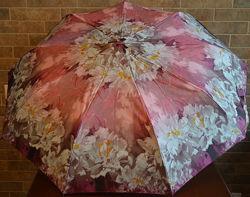 Надійна жіноча парасолька суперавтомат 9 спиць. Zest.