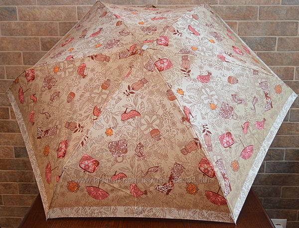 Компактна та надійна парасолька на 6 спиць. Zest.