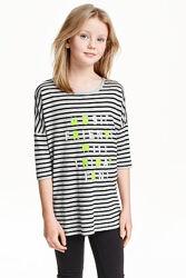 Регланы, наборы для девочек Kiabi, H&M