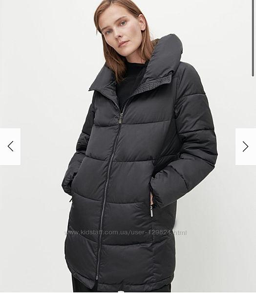Утеплённое стеганое пальто