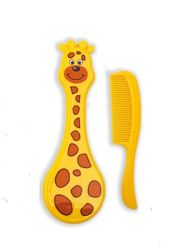 Расческа для волос с гребнем Lindo Жираф