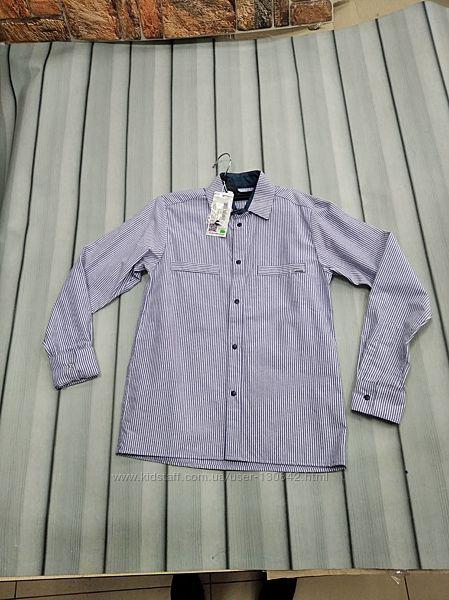 Рубашка для мальчиков в полоску