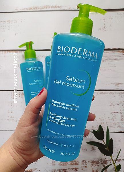 Гель для умывания Bioderma Sebium Gel Moussant Purifying and Foaming Gel