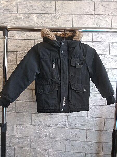 Демісезонна тепла куртка nutmeg 4-5 років