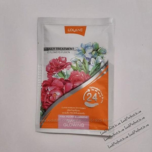 Цветочная маска для волос Розовый пион и жасмин Lolane Daily Treatment Sw