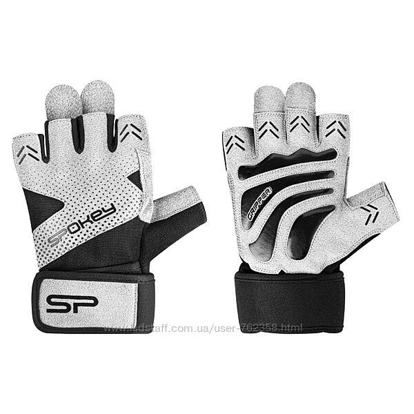 Мужские спортивные перчатки, перчатки для фитнеса Spokey
