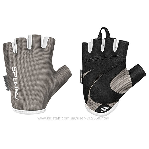 Женские спортивные кожаные перчатки, перчатки для фитнеса Spokey