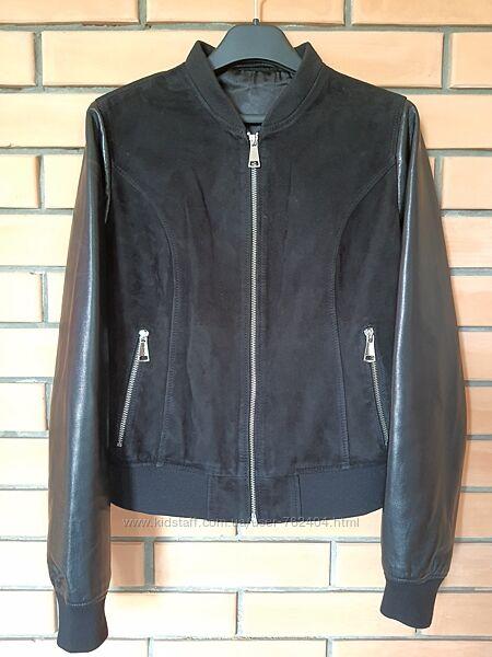 Куртка кожа замша S-XS