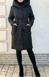 Стеганое пальто, куртка р42-44 в наличии