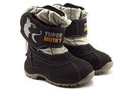 Зимние термо сапоги ботинки дутики мембрана на шерсти B&G 22-29р