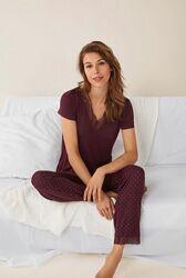Піжама жінрча штани футболка домашній костюм одяг для дому Women&acutesecret
