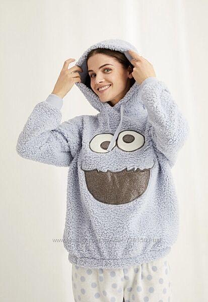 Пижама домашній костюм теплий приємний зручний принтований Womensecret