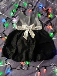 Платье нарядное на девочку h&m 3-4года.