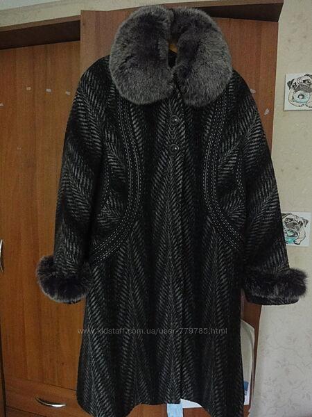 Пальто женское зимние 52-54 размер