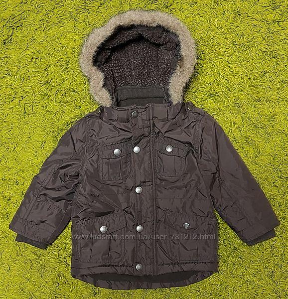 Тёплая куртка F&F 92 см.