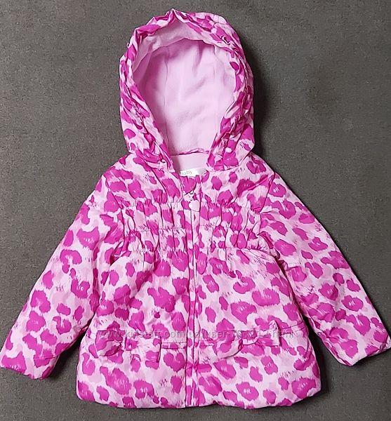 Яркая куртка M&Со Baby 9-12 мес.