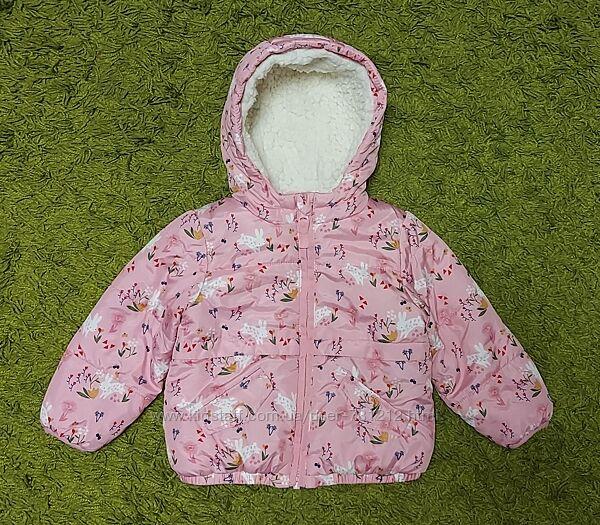 Классная нежная куртка Mini Сlub 12-18 мес.