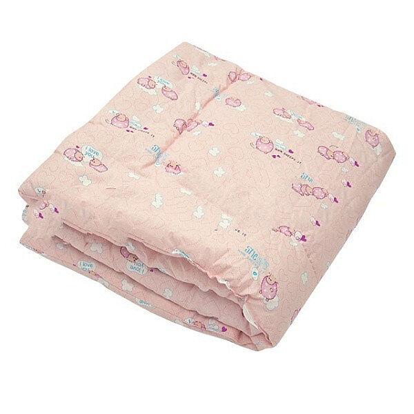 Одеяло стёганое детское Бязь/силикон  105х140