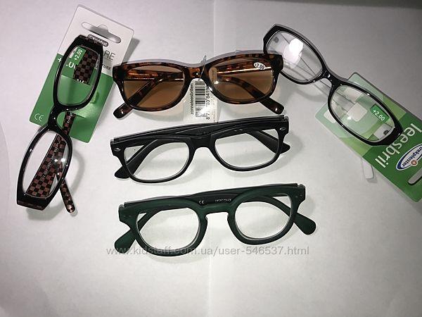 Очки с диоптриями 2 очки для чтения