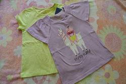 Новый комплект футболок Lupilu, р. 110-116, 4-6 лет